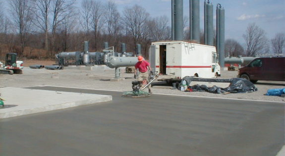 Compressor Station Trowel Work