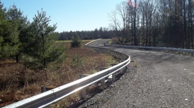 Completed Well Pad Access Road