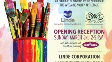 Linde hosting WVAL 'Pipeline to the Arts' exhibit